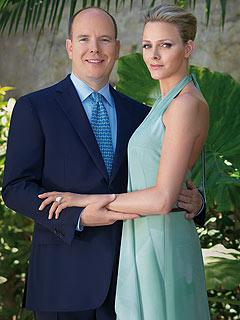 wedding in monaco prince albert II and Charlene Wittstock