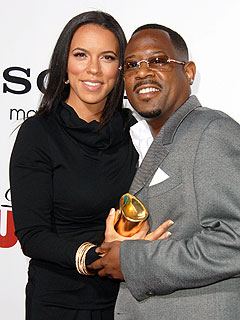 Martin Lawrence and wife Shamicka