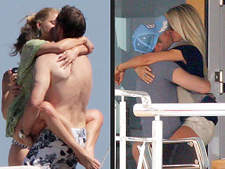 PHOTOS: Jessica Simpson, Julianne Hough & Their Men Get Kissy Overseas