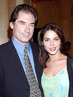 Oksana Grigorieva Leans on Her Ex Timothy Dalton for Support
