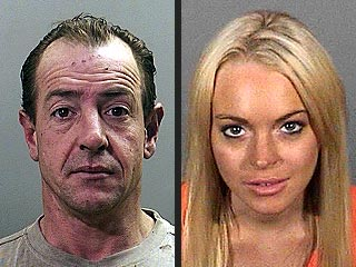 PHOTOS:  Lohan Father & Daughter Mug Shots | Lindsay Lohan