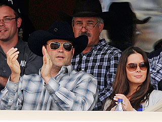 Vince Vaughn Takes Pregnant Wife to the Rodeo