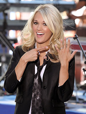 Carrie Underwood wedding ring