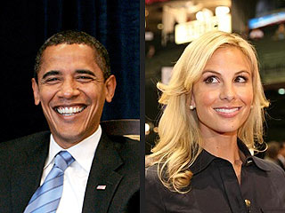 QUOTED: Will President Obama Make Elisabeth Hasselbeck Laugh?
