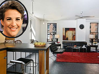 Check Out Rachel Maddow&#39;s New $1.25 Million N.Y.C. Apartment