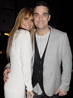 Pop Star Robbie Williams Weds