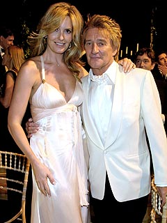 Rod Stewart Marries Penny Lancaster in Italy