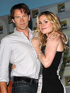 Anna Paquin and Stephen Moyer Get Married | Anna Paquin, Stephen Moyer