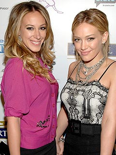 Haylie Duff and hilary duff movie