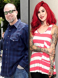 Jesse James and Kat Von D Get Cozy in Las Vegas