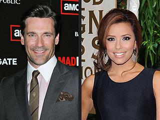 Jon Hamm, Eva Longoria Parker to Add Sizzle to Emmys