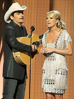 Co-Hosts Carrie Underwood & Brad Paisley to Perform at CMA Awards