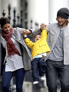 Halle Berry & Gabriel  Aubry: Friendly, Globe-trotting Exes