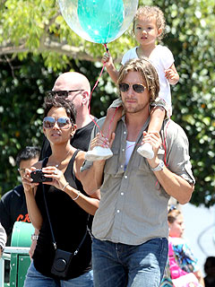 Halle Berry & Gabriel  Aubry: Friendly, Globe-trotting Exes| Gabriel Aubry, Halle Berry