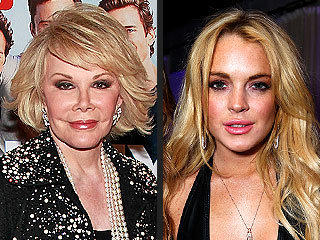 Joan Rivers: I'll Go Easy on Lindsay Lohan – If She Stays Sane | Joan Rivers, Lindsay Lohan