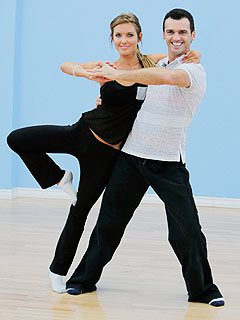 PHOTO: Audrina Patridge Works up a Sweat Before DWTS
