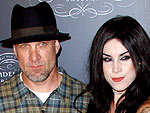 Jesse James & Kat Von D Smooch – and Shop – in L.A.