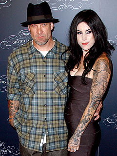 Jesse James and Kat Von D Split