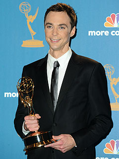 Jim Parsons Won't Let Weepy Mom Keep His Emmy