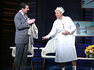 PHOTO: Ellen DeGeneres Plays Nurse in Surprise Broadway Debut