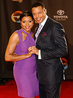 Taraji P. Henson and Terrence Howard Hop Soul Train | Taraji P. Henson, Terrence Howard