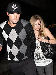 Avril Lavigne & Brody Jenner Party with Her Ex in L.A.