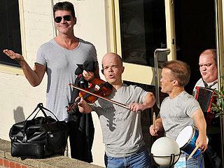 Simon Cowell Gets Mini Birthday Serenade