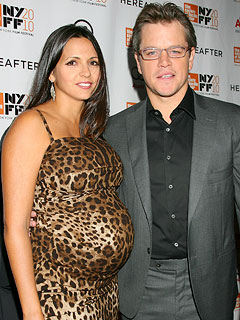 Matt Damon and His Wife Welcome a Baby Girl