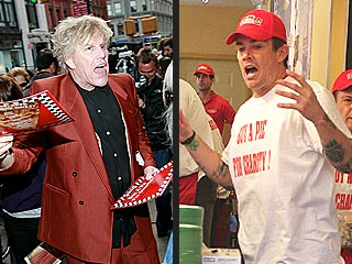 Is Gary Busey Selling Pizza for Celebrity Apprentice? | Gary Busey, Mark McGrath