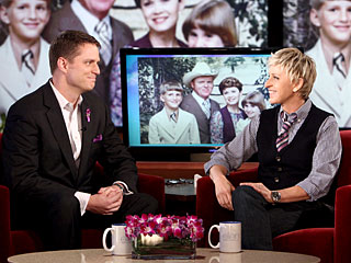 Ellen DeGeneres Praises Gay City Council Member Joel Burns on  Speech