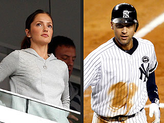 PHOTO: Minka Kelly Roots, Roots, Roots for the Yankees – and Derek Jeter