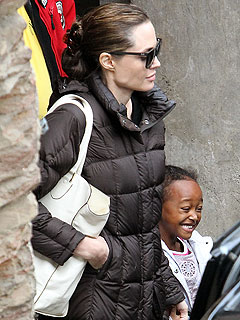 Brad Pitt and Angelina Jolie's Spa Day with the Kids| Angelina Jolie, Brad Pitt