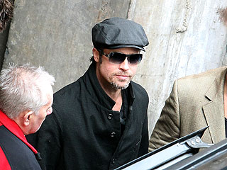 Brad Pitt, Angelina Jolie's Spa Day with the Kids