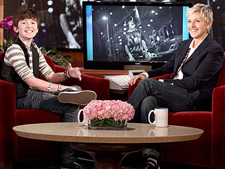 Greyson Chance Debuts First Single for Ellen DeGeneres