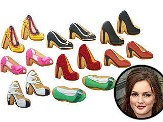 Gossip Girl Celebrates Blair's Birthday with Designer Shoe Cookies | Leighton Meester