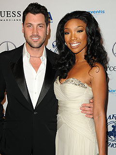 Dancing with the Stars: Brandy's Daughter Is Proud and Loves Maksim Chmerkovskiy