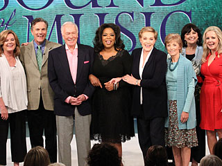 Oprah Winfrey Reunites Sound of Music's Original Cast