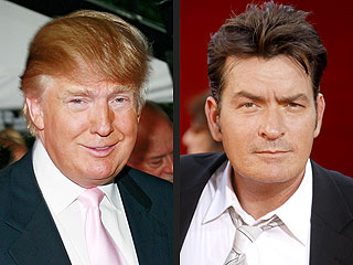 Donald Trump Wants Charlie Sheen on The Celebrity Apprentice