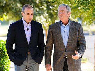 George W. Bush Talks to Matt Lauer About Kanye West Insult