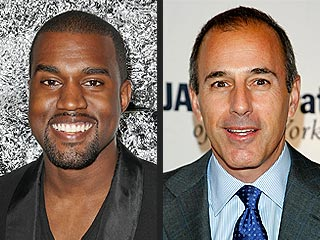 Kanye West Vs. Matt Lauer: The Feud Escalates | Kanye West, Matt Lauer