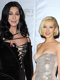Christina Aguilera Gets Relationship Advice from Cher