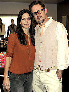 David Arquette Loves Acting with Courteney Cox