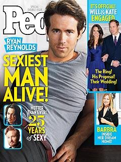 Sexiest Man Alive: Ryan Reynolds