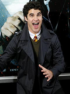 New Glee Star Darren Criss Celebrates at Harry Potter Premiere