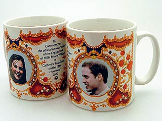 Prince William Engagement Mugs for Sale