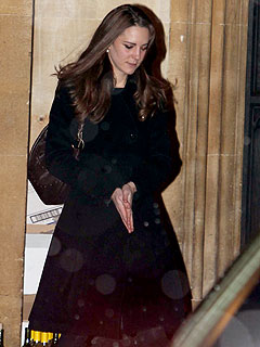 Kate Middleton&#39;s Solo Night Out