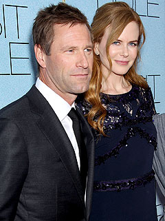 Nicole Kidman Wants to Marry Off Aaron Eckhart