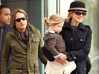 Nicole Kidman and Keith Urban Upstaged by Their Daughter