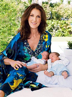 PHOTO: Céline Dion at Home with Twins Eddy & Nelson | Celine Dion