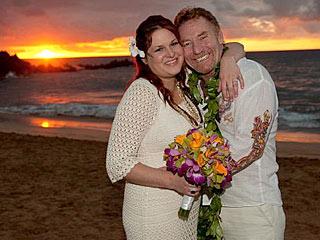 PHOTO: Danny Bonaduce's Surprise (to Him!) Hawaiian Wedding